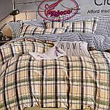 Качественный комплект постельного белья с фланели Размер двуспальный 180*220, фото 3