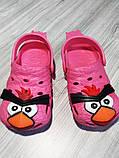 Кроксы детские красные 7934, фото 2