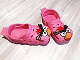 Кроксы детские красные 7934, фото 3