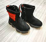 Чобітки дитячі Shoesyga чорні, фото 3