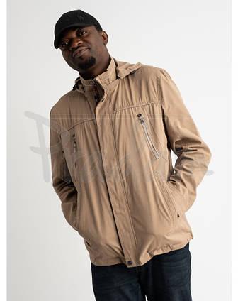 Куртка демисезонная, ветровка мужская очень больших размеров YISEN, фото 2
