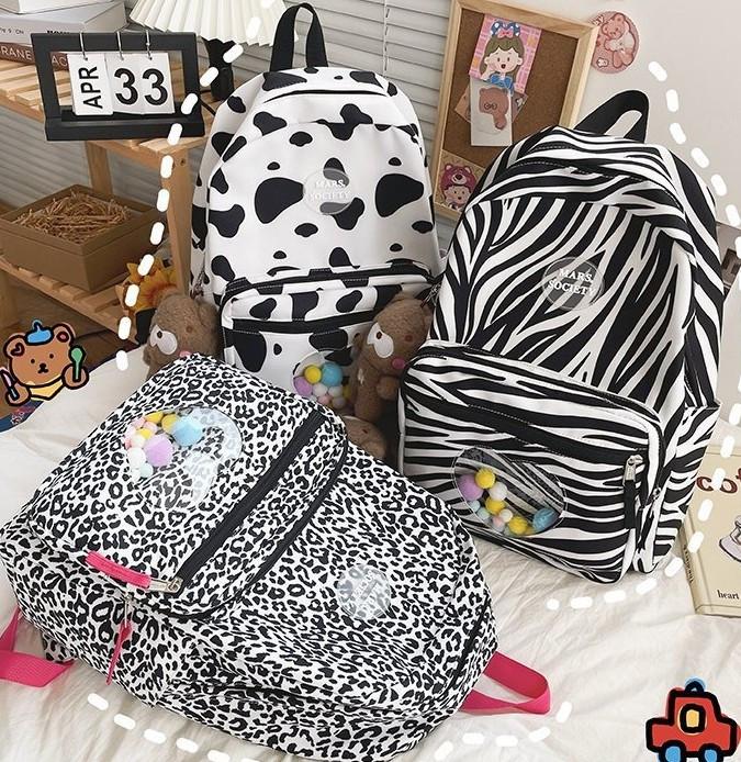 Рюкзак с животным принтом