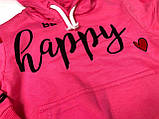 Костюм для девочки Be happy темно-розовый 3878, фото 2