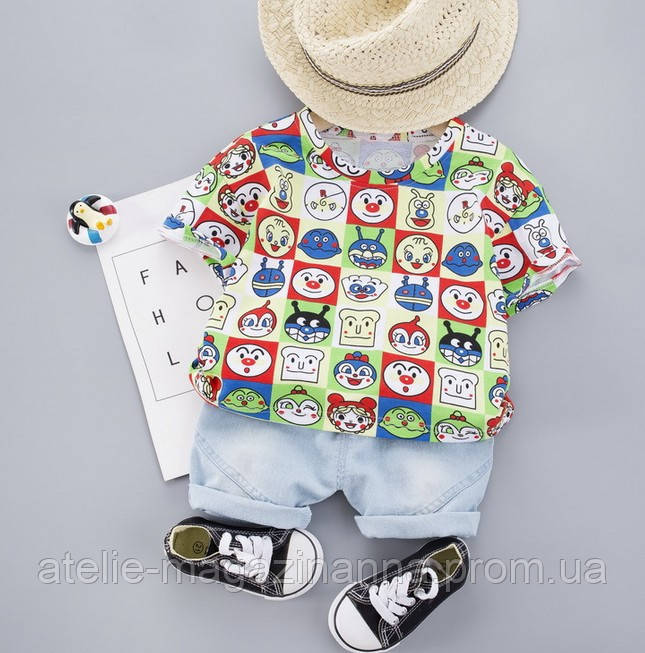 Летний костюм мальчика Faces 3996