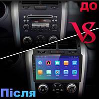 Штатна Android Магнітола на Suzuki Grand Vitara 2005-2015 Model P6/P8-solution (М-СГВс-9-Р8)