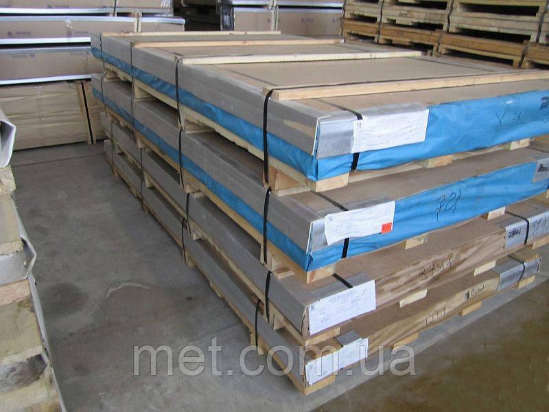 Лист алюминиевый дюраль 3 мм Д16АТ (2024 Т351)