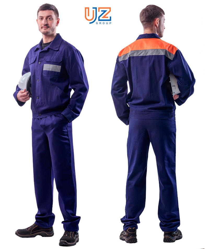 Костюм мужской для защиты от общих производственных загрязнений (куртка, брюки) рост 180-190 см
