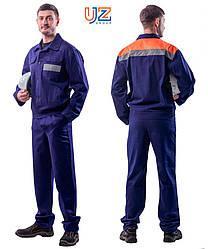 Костюм чоловічий для захисту від загальних виробничих забруднень (куртка, штани) зріст 180-190см