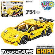 Конструктор Limo Toy Гоночний автомобіль Y TurboCars 751 деталь Kb 178