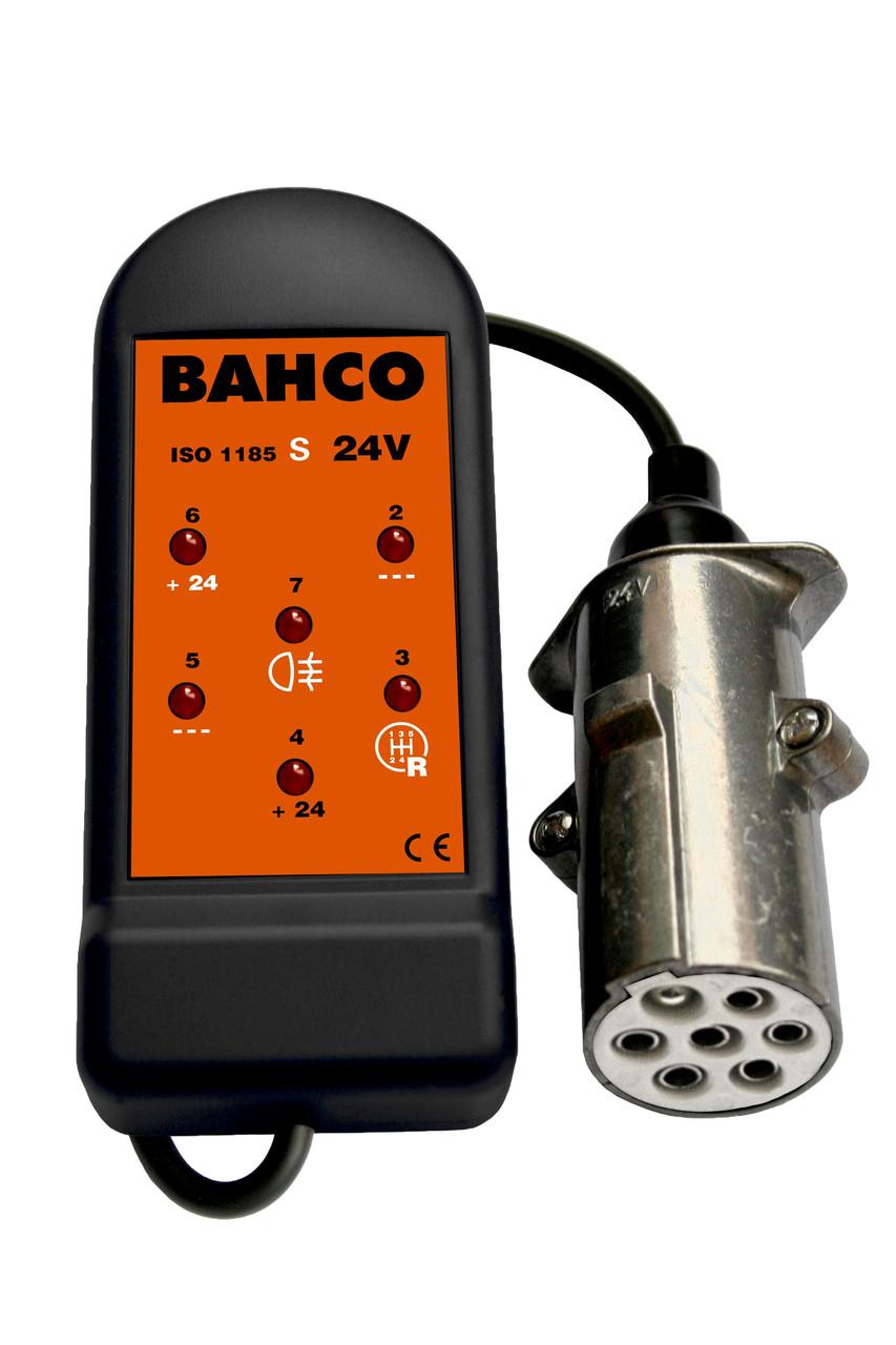 Тестер разъемов на 7 контактов 24 V, Bahco, BELT247S