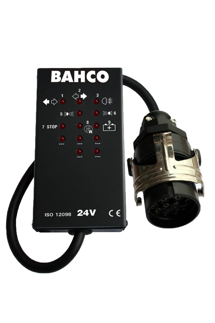 Тестер разъемов на 15 контактов 24 V, Bahco, BELT2415