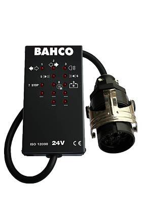 Тестер разъемов на 15 контактов 24 V, Bahco, BELT2415, фото 2