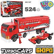 Конструктор LimoToy Гоночна команда TurboCars 524 деталі 107 KB