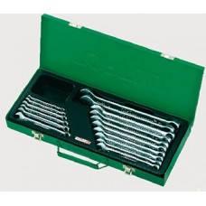 Набір ключів комбінованих 16 шт. 6-24мм (metal box) GAAD1603