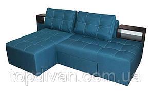 """Кутовий диван """"Лего"""" (Доміно). Багама Джинс. Габарити: 2,70 х 1,70 Спальне місце: 2,00 х 1,60"""