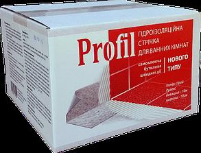 Лента Бутиловая Гидроизолирующая 1 мм х 100 мм х 10 м Profil