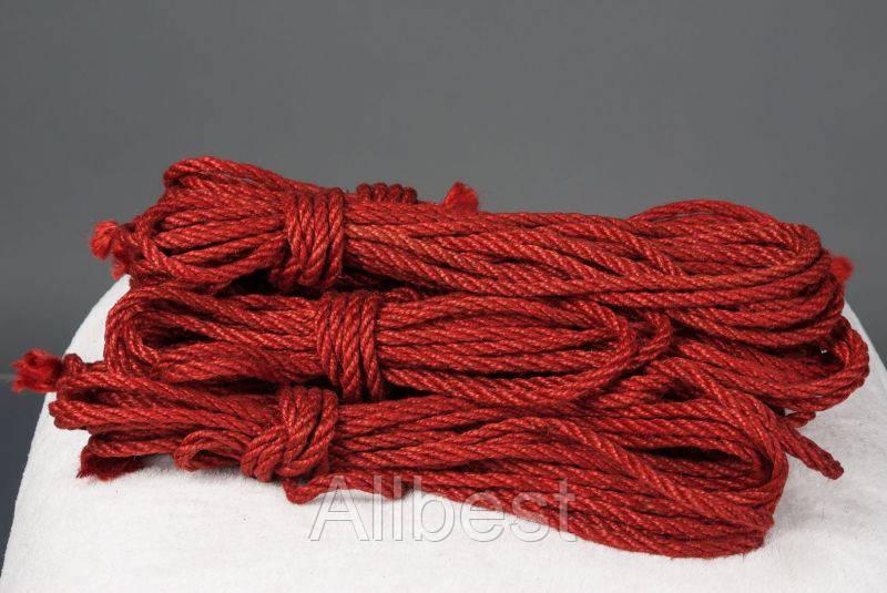 Веревка для связывания красная Shibari Studio -  (280301)