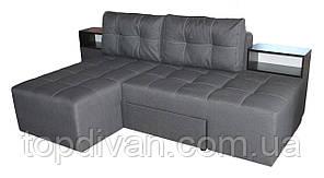 """Кутовий диван """"Лего"""" (Доміно). Люкс 06. Габарити: 2,70 х 1,70 Спальне місце: 2,00 х 1,60"""