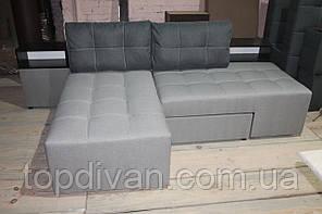 """Кутовий диван """"Лего"""" (Доміно). Люкс 05 + подушки Люкс 06. Габарити: 2,70 х 1,70 Спальне місце: 2,00 х 1,60"""