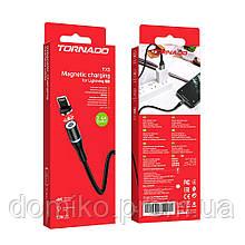 Магнитный кабель USB-L Tornado TX5 Magnetic Lightning black