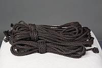 Веревка для связывания черная Shibari Studio - (280303)