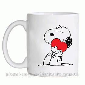"Чашка ""Щенок с сердечком"""