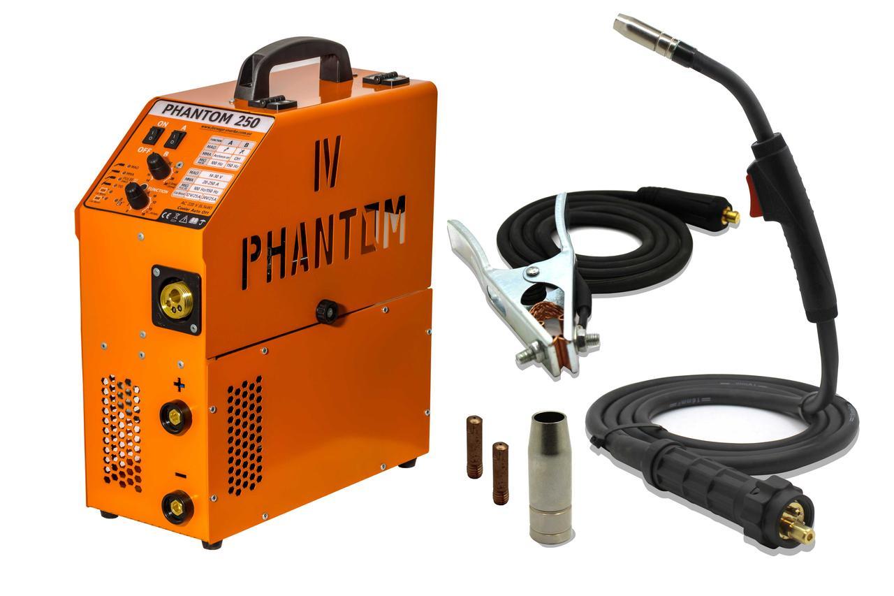 Инверторный сварочный полуавтомат FORSAGE PHANTOM 250A Pulse