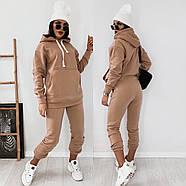 Женский теплый костюм на флисе (кофта и штаны), фото 2