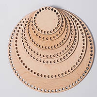 Донышки из фанеры , диаметр 10 см