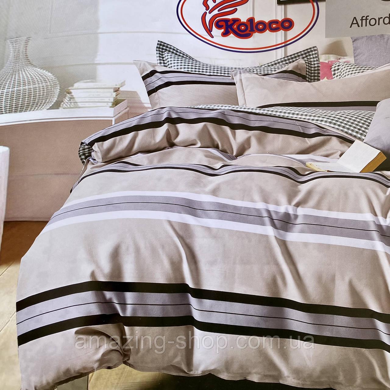 Якісний комплект постільної білизни з фланелі Розмір євро 200 * 230