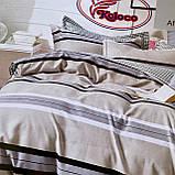 Якісний комплект постільної білизни з фланелі Розмір євро 200 * 230, фото 3