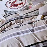Якісний комплект постільної білизни з фланелі Розмір євро 200 * 230, фото 4