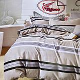 Якісний комплект постільної білизни з фланелі Розмір євро 200 * 230, фото 5