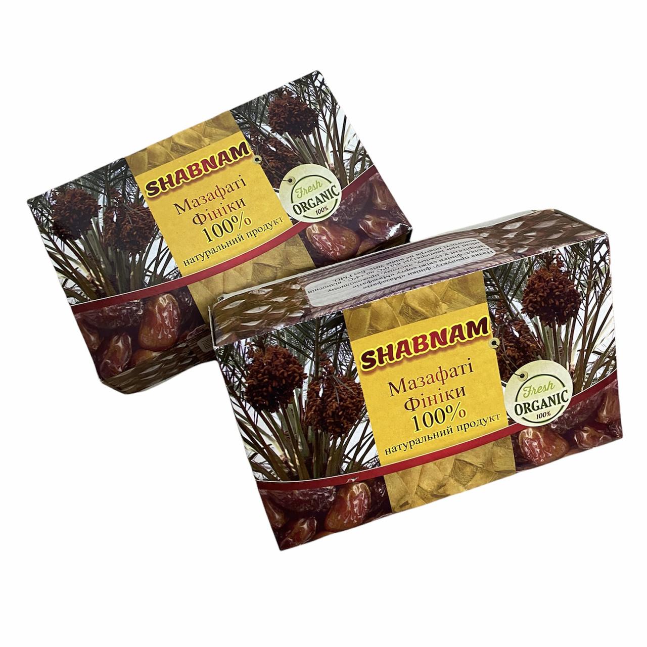 Финики Mazafati shabnam 600г, финики в коробке натуральные мазафати  без сахара, Иран