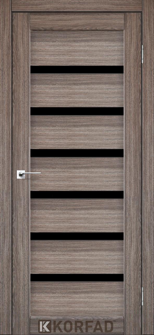 Двери Korfad PD-01 Дуб грей BLK
