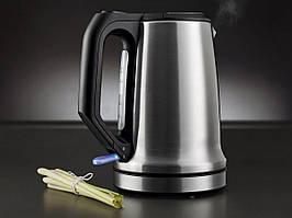 Чайник SILVERCREST  SWKD 2200 A1 на  1,7 л з фільтром від  вапняного нальоту, срібний