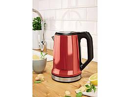 Чайник SILVERCREST  SWKD 2200 A1 на  1,7 л з фільтром від  вапняного нальоту, червоний