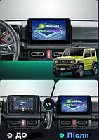 Штатна Android Магнітола на Suzuki Jimny 2018-2020 Model 3G-WiFi-solution (М-СЖн-9-3Ж)