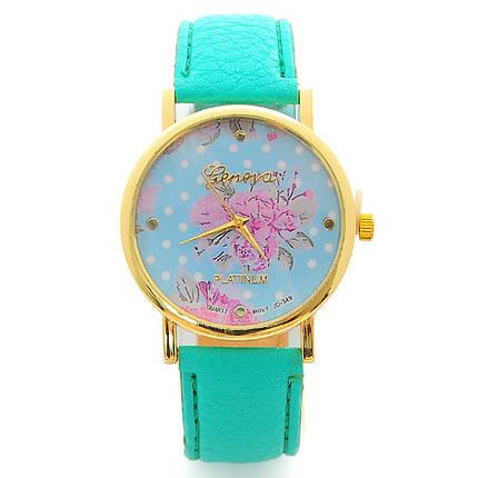 Жіночі кварцові наручні годинники Jeneva Flor Rosa, фото 2