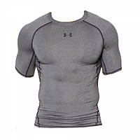Футболка Under Armour HeatGear® Armour Short Sleeve Compression Shirt Gray