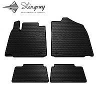 Гумові килимки в салон FIAT Doblo 10- /OPEL Combo D 11 - Stingray, фото 1