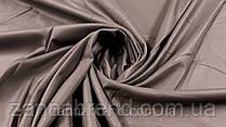 Ткань экокожа на меху цвета капучино