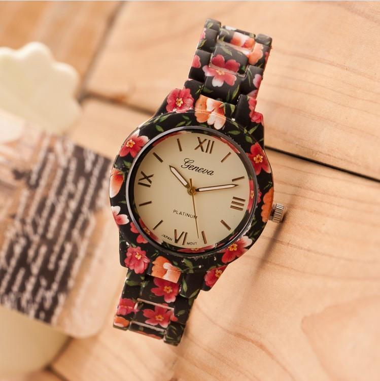 Женские кварцевые наручные часы Jeneva Saif