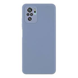 Силіконовий бампер для Xiaomi Redmi Note 10S, Soft Case, Синій