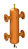 Гидрострелка ОГС-Ф-70 (до 1210 кВт) фланец Ду125