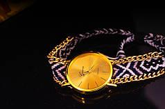 Женские наручные часы в этническом стиле Jeneva Etnisch Schwarz