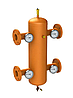 Гидрострелка ОГС-Ф-13-КИП (до 220 кВт) фланец Ду50