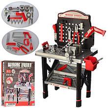 Детский игровой набор инструментов Work Table 16554B Черно-красный 50 предметов