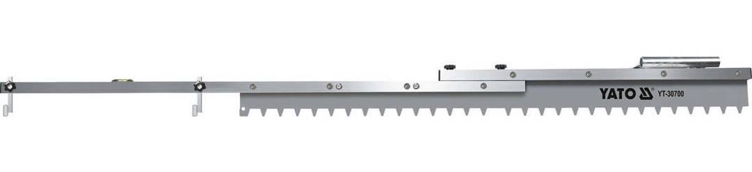 Зубчатая рейка регулируемой длины YATO YT-30700, фото 2