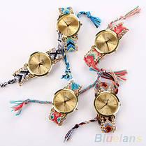 Женские кварцевые наручные часы в этническом стиле Jeneve Etnisch Marineblau, фото 2